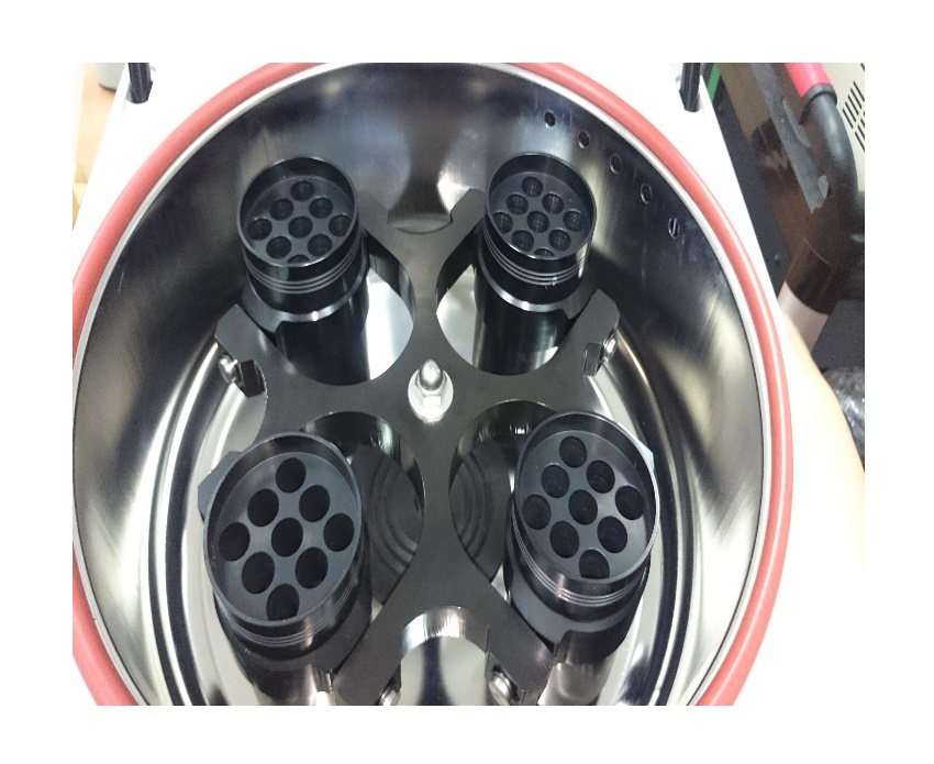 Auto Cap-Opening Centrifuge