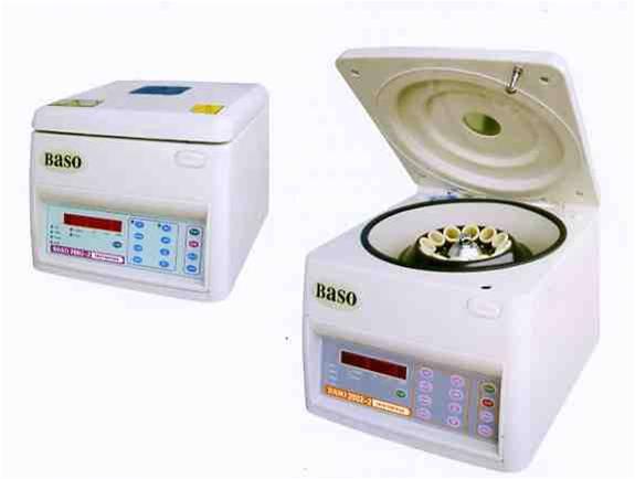 Baso Centrifuges for Blood Bank