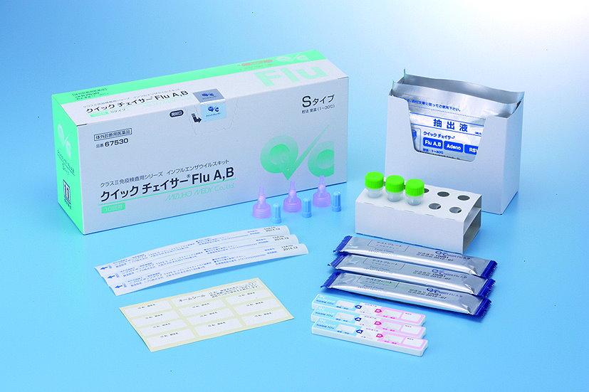 Flu A,B Repaid Test
