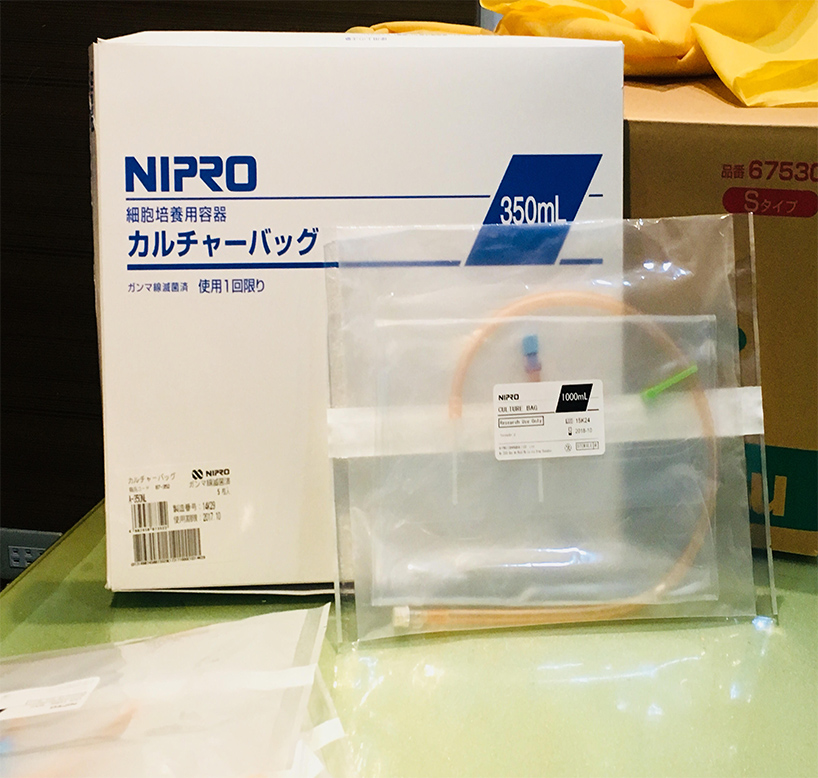 Cell Culture Bag with Box
