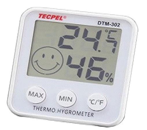 數字型溫濕度計